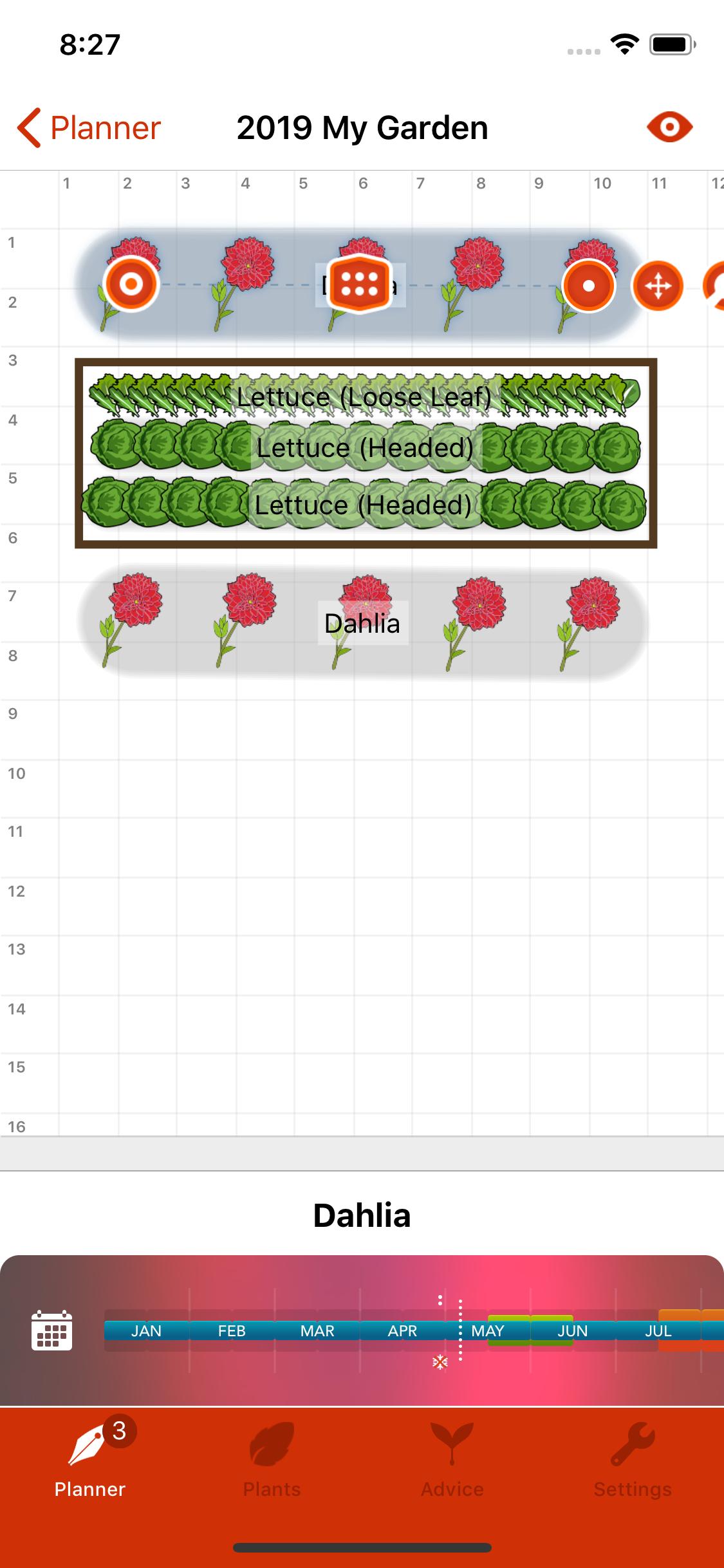 Garden Plan Pro - A Garden Planner App for iPhone - Design